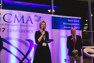 Amy Yeates (and GCMA CEO Bob Williams)